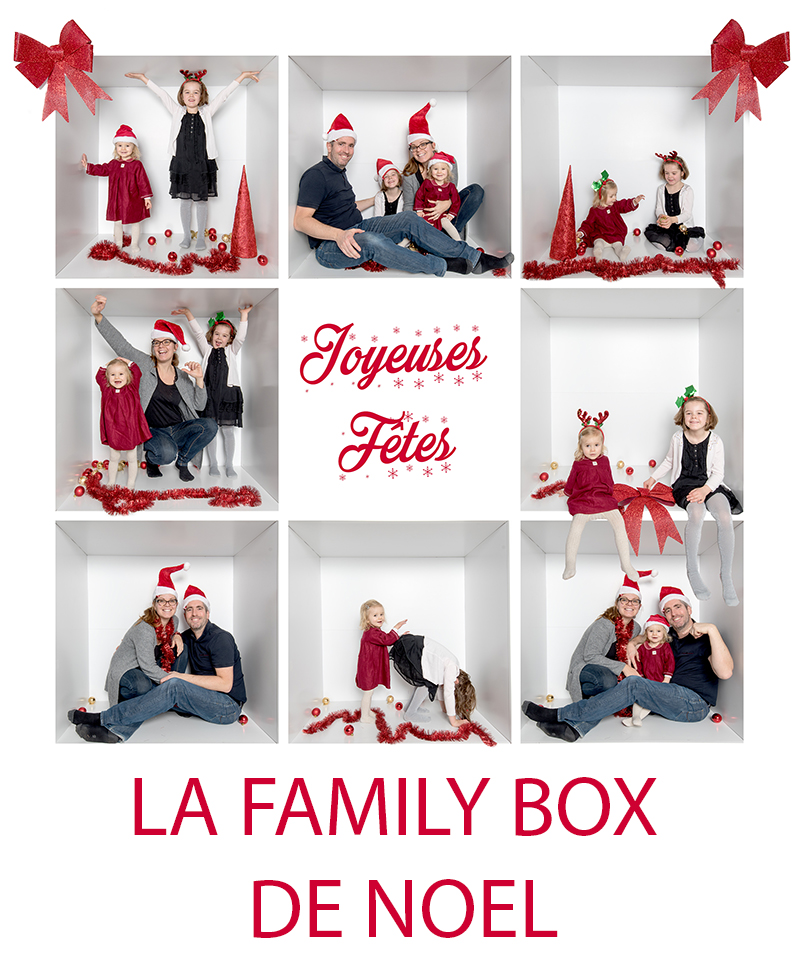 Family box de Noel en Normandie